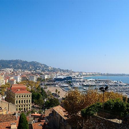 Visiter Cannes avec guide