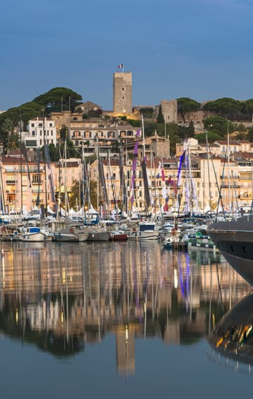 Contacter un VTC au port de Cannes