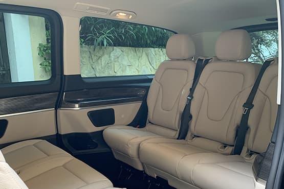 Découvrez Cannes avec chauffeur privé VTC dans un Mercedes CLasse V